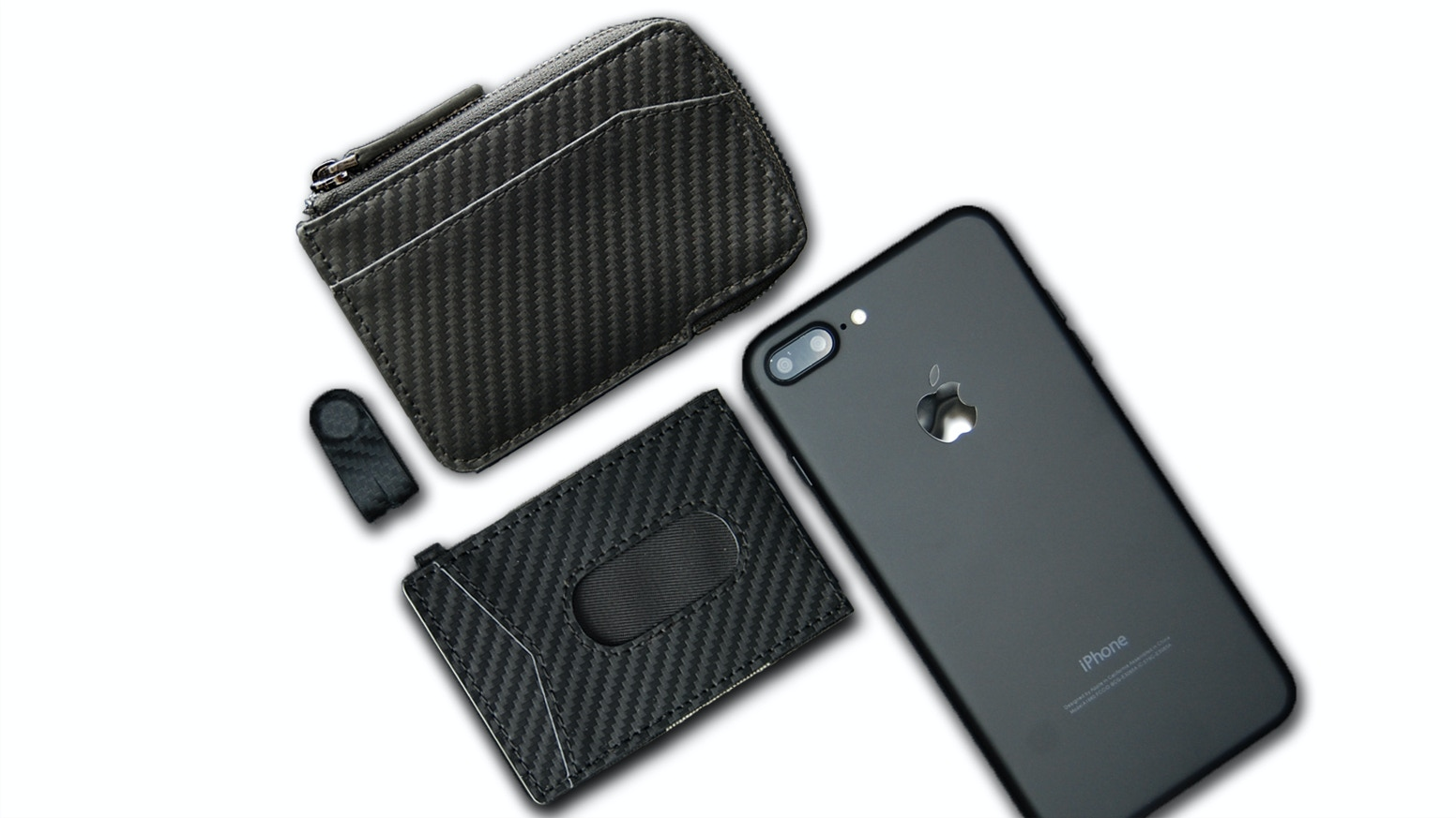 Simple and practical slim wallet with RFID blocking protection to keep your identity and data safe.