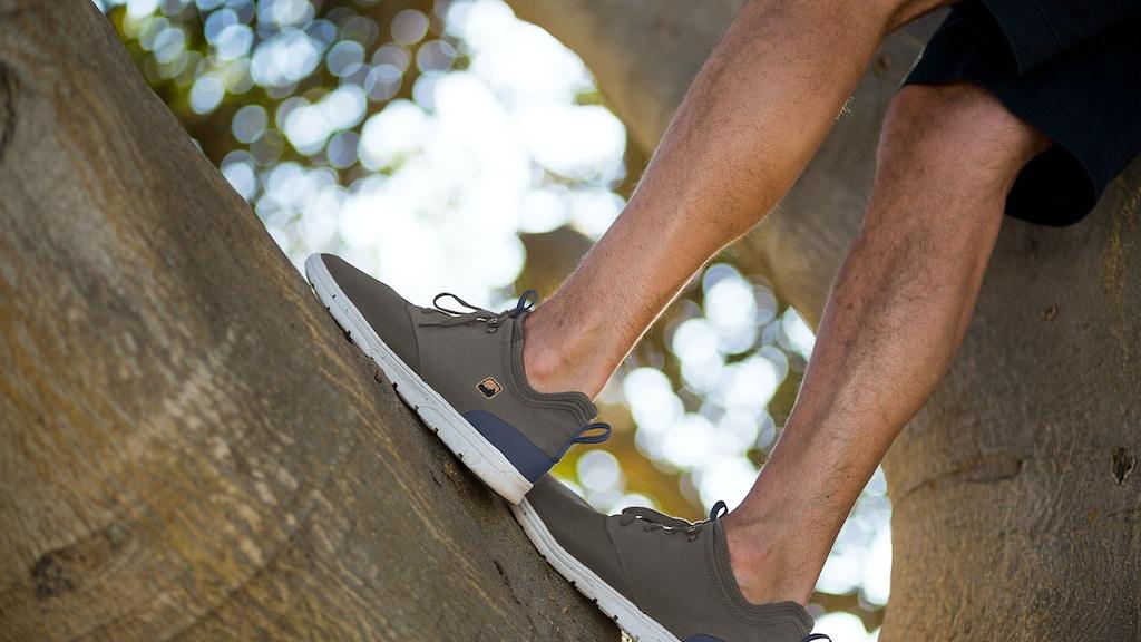 SAOLA Shoes: Sustainable kicks that kick back. project video thumbnail