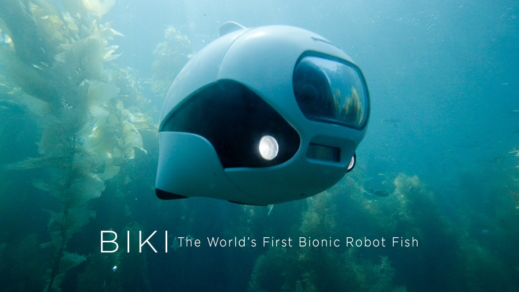 BIKI: First Bionic Wireless Underwater Fish Drone project video thumbnail