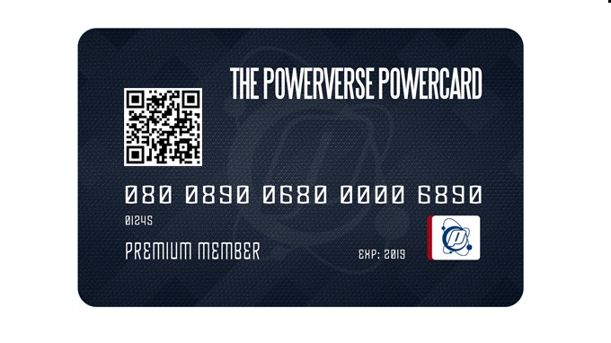 POWERCARDS gives you access to free POWERVERSE swag and special deals!