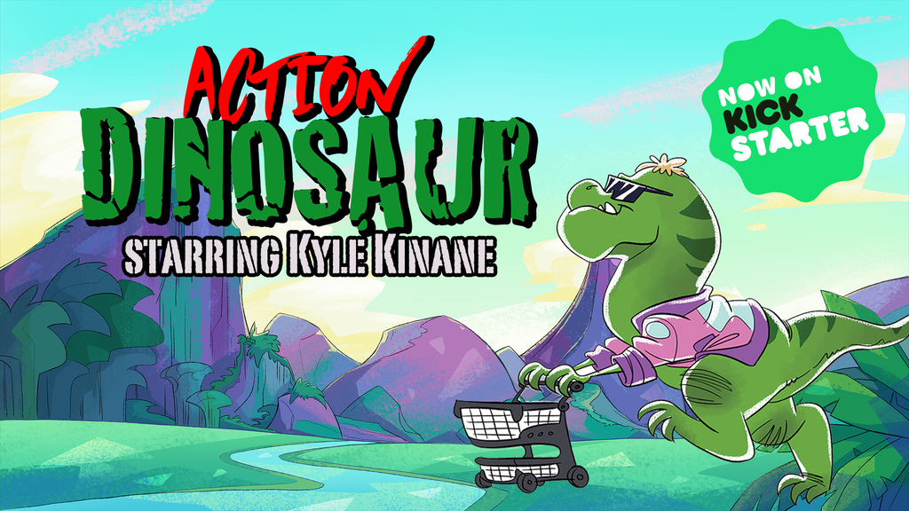 Action Dinosaur starring Kyle Kinane project video thumbnail