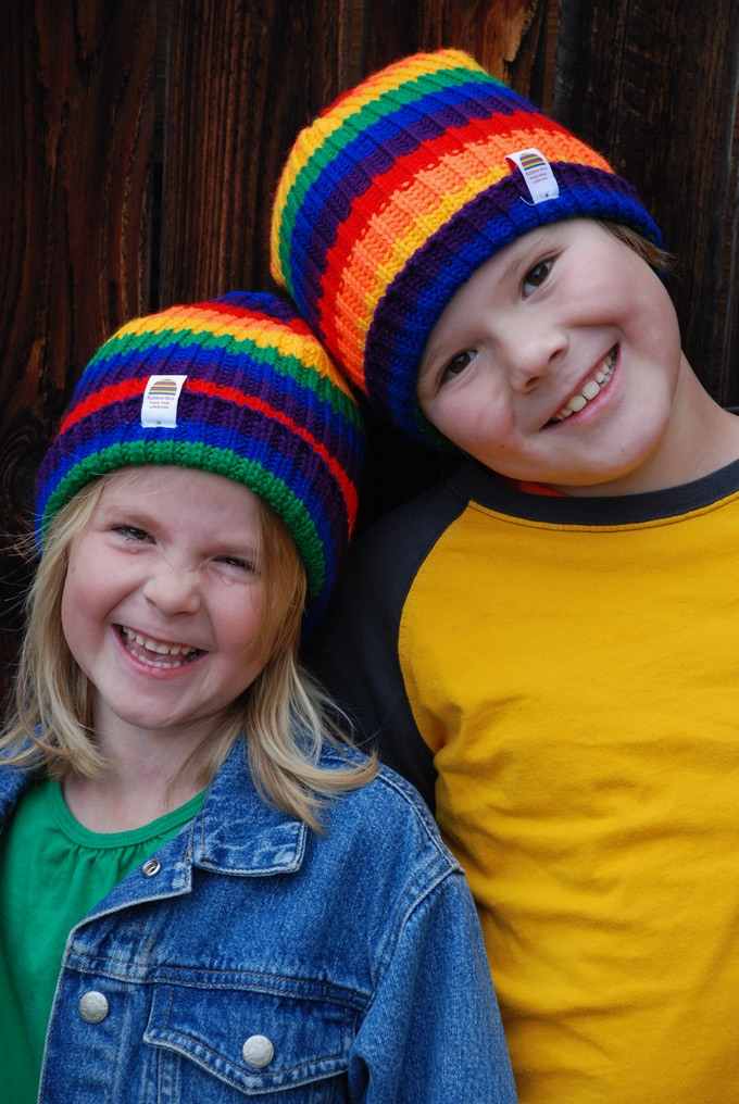 My children wearing prototypes!