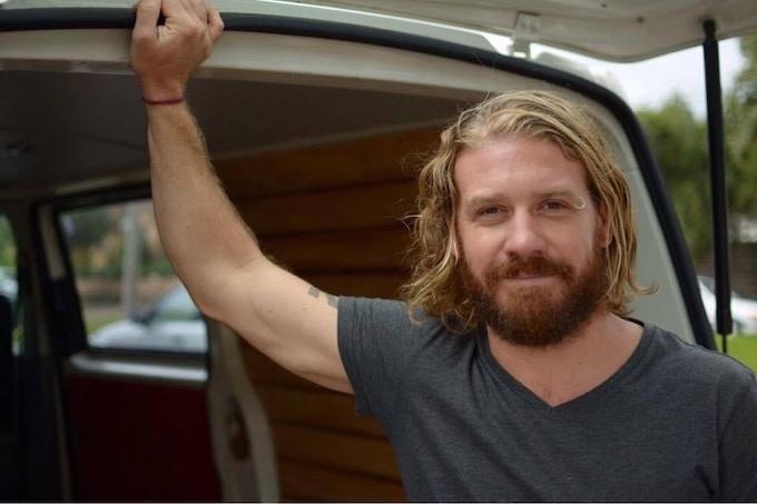 Sam Peterson: Bells Beach, Australia. Co-founder. Event Manager,  Conversion Specialist.