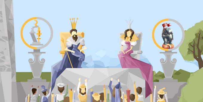 King Curvanimus and Queen Structura invite you to compete in the Tournament of Towers!