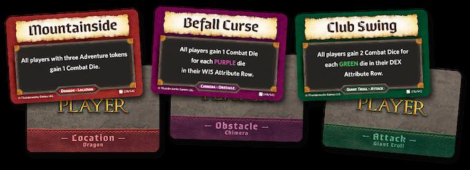 Sample Adventure Cards!