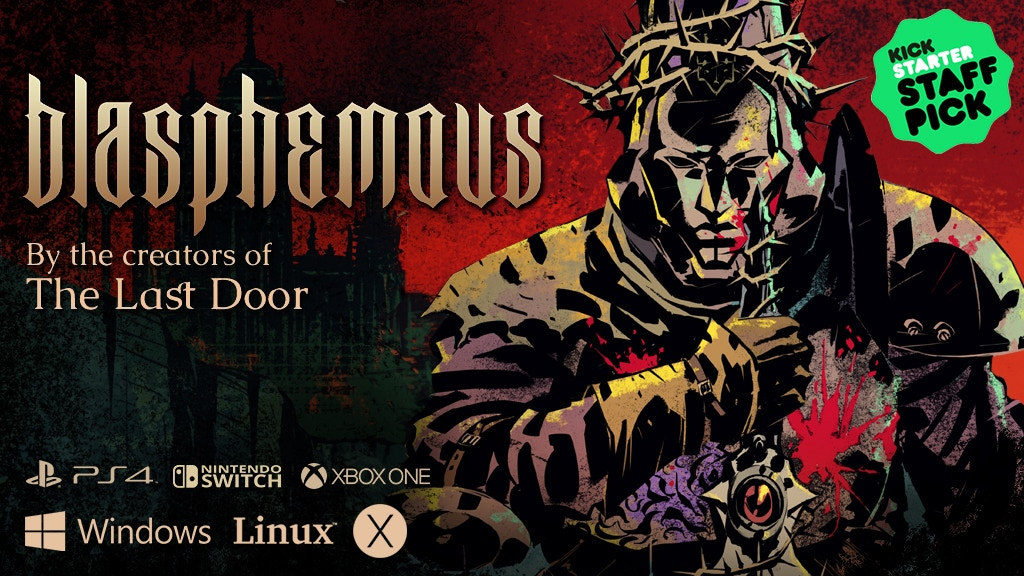 Blasphemous: Dark and brutal 2D non linear platformer project video thumbnail