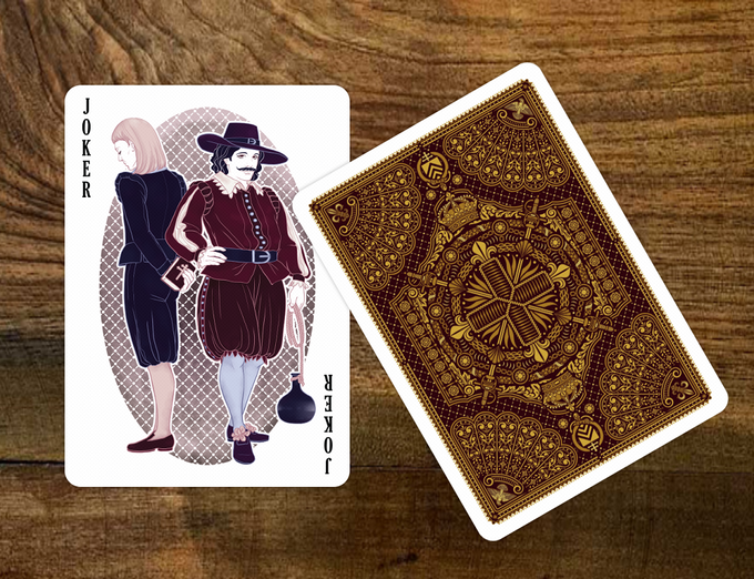 alexandre dumas classics 39 playing cards by bona fide. Black Bedroom Furniture Sets. Home Design Ideas