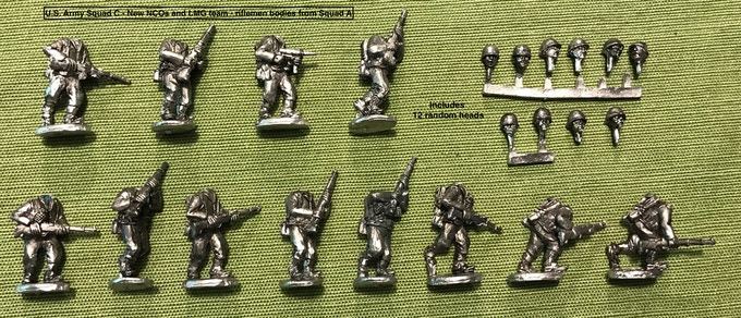 U.S. Army Squad C