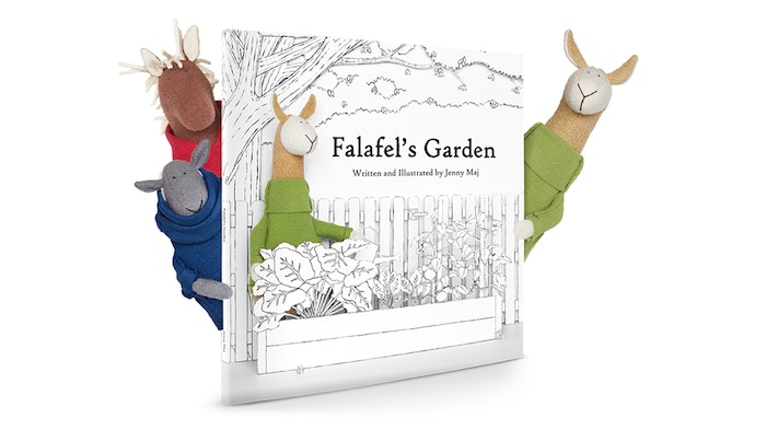 A uniquely illustrated children's book about gardening, cooking, and forgiveness with accompanying organic plush!