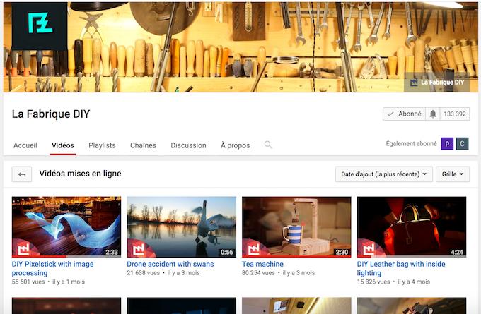 La Fabrique DIY - DIY Youtube Channel