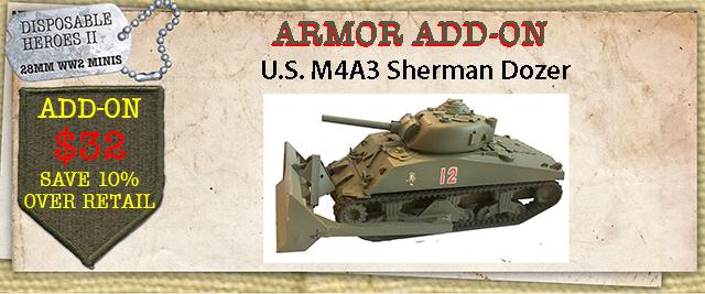 M4A3 Dozer