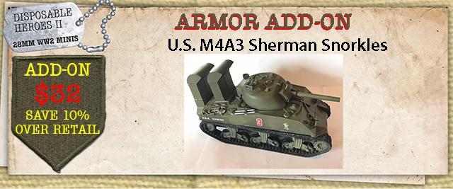 M4A3 Snorkels