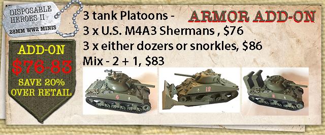 M4A3 Platoon Mix and Match