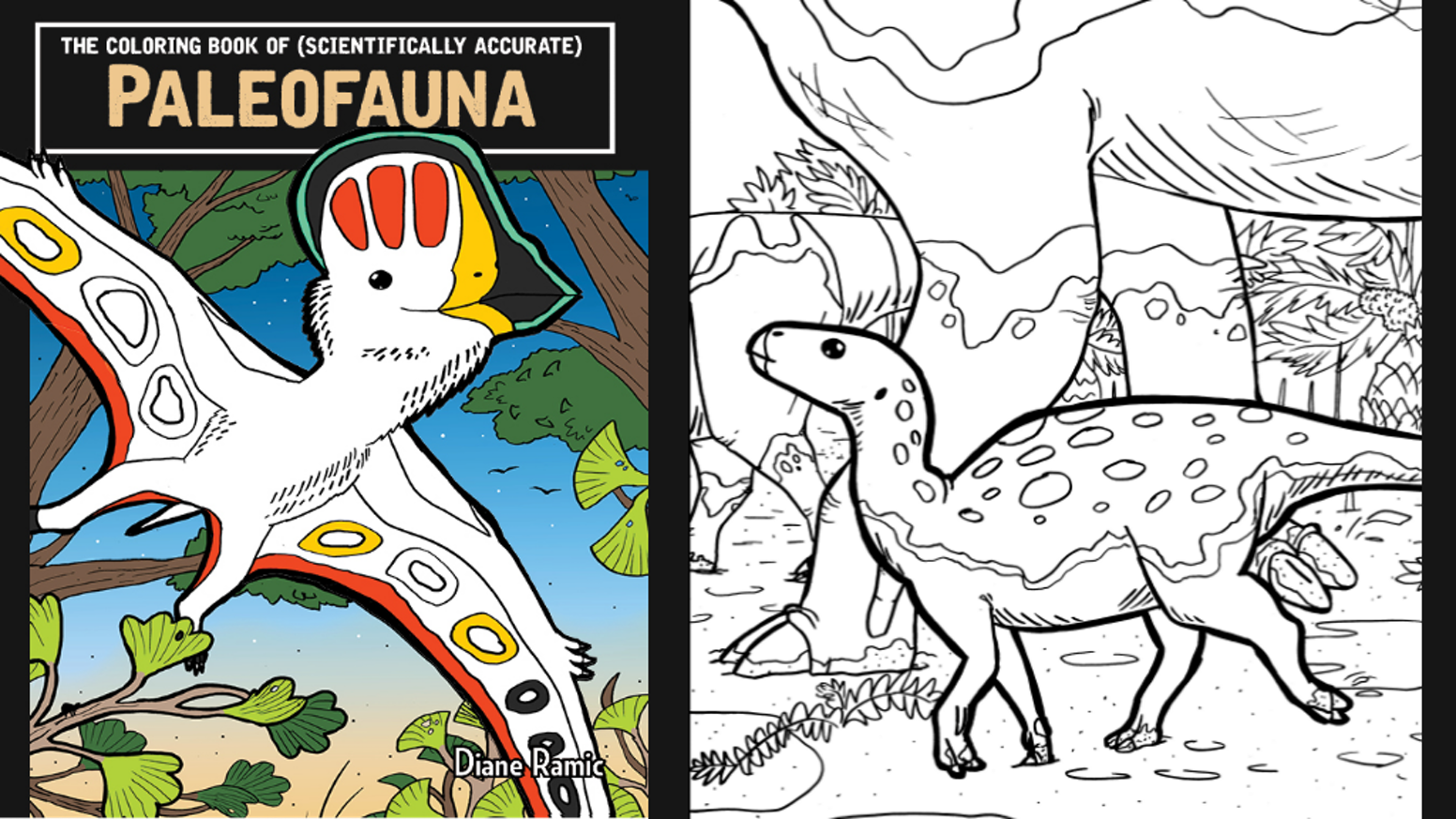 The Coloring Book of PaleoFauna! by Diane Ramic — Kickstarter