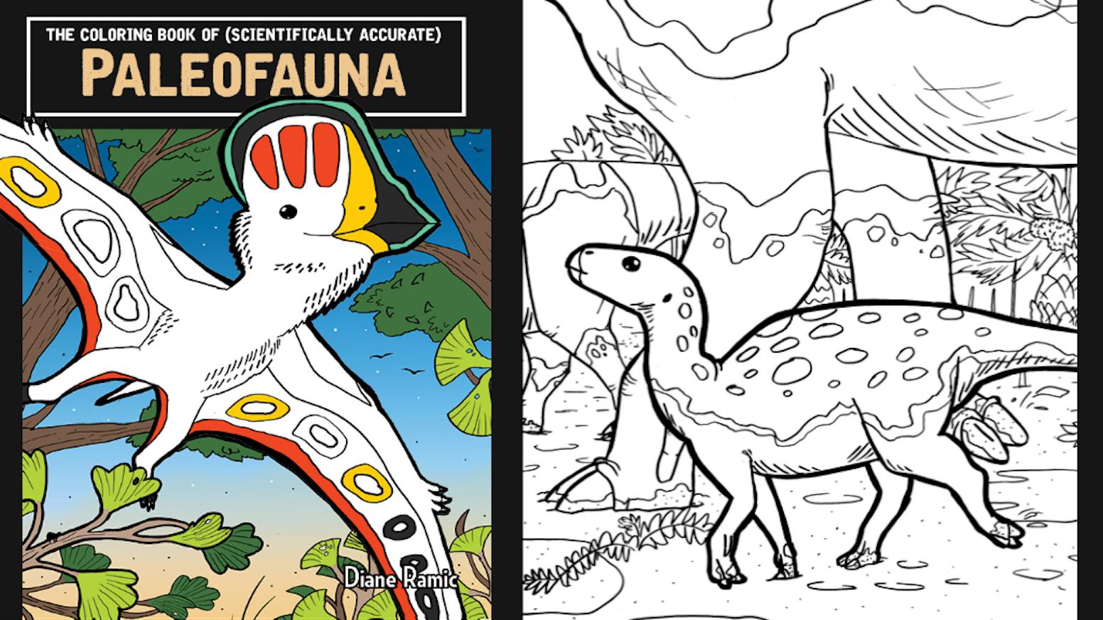 The Coloring Book of PaleoFauna! by Diane Ramic — Kickstarter