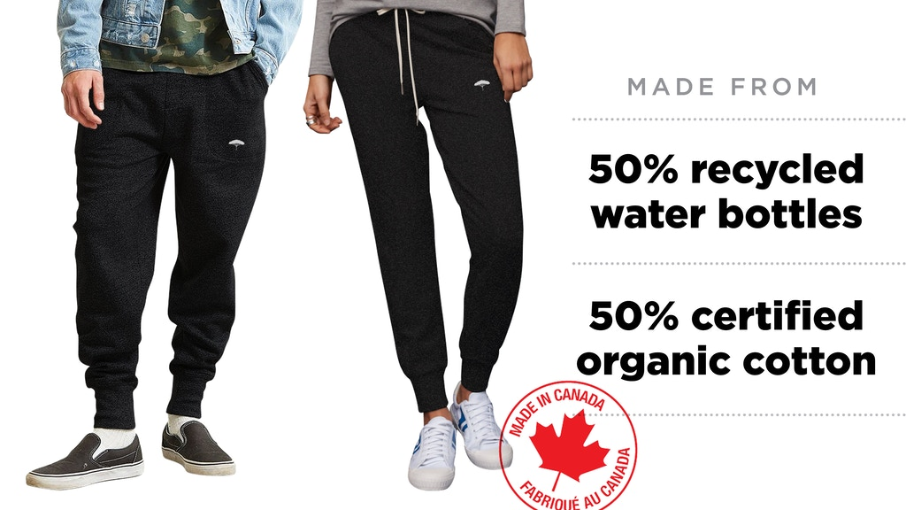 Own Canadian Sustainable Style - Ungalli Joggers! project video thumbnail