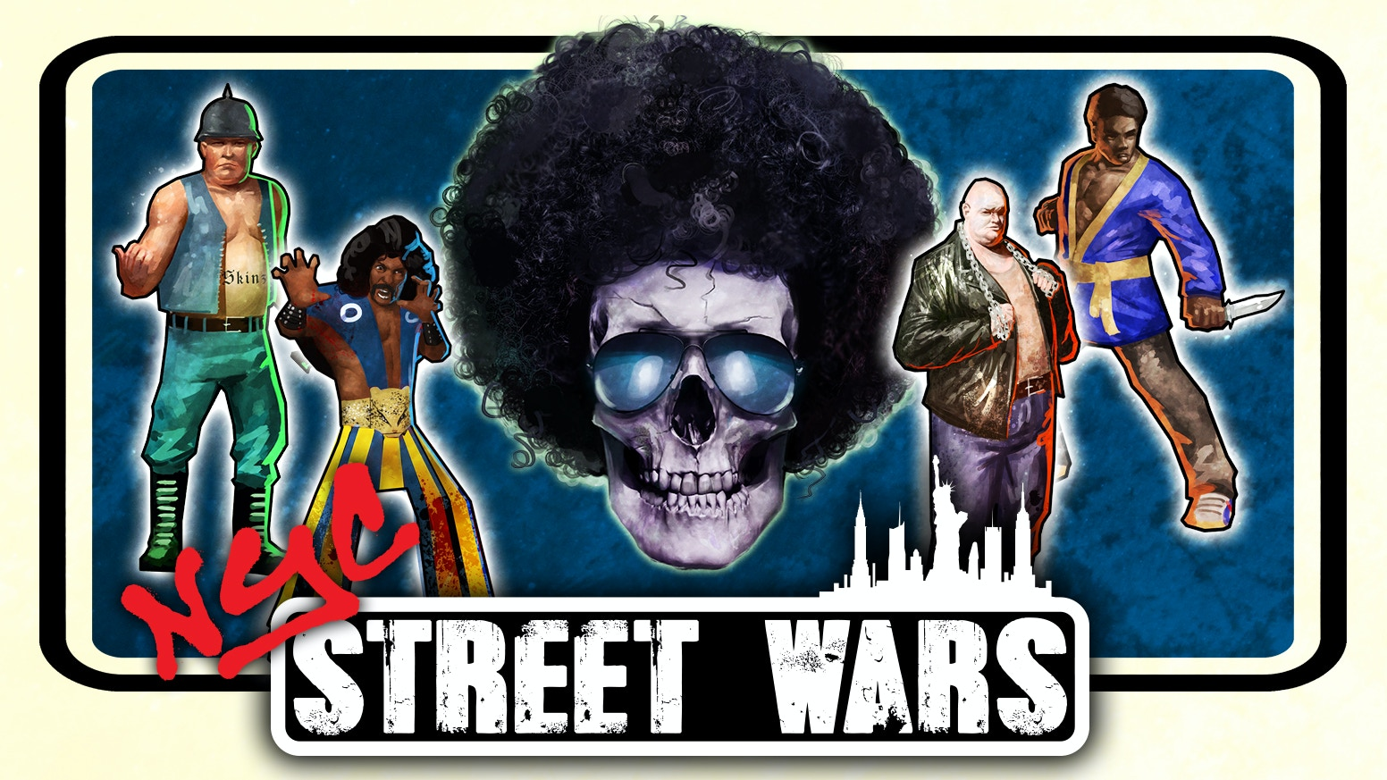 Street Wars NYC, a new range of 1970's New York gangs and rules. Battle it out on the means streets of the Big Apple.