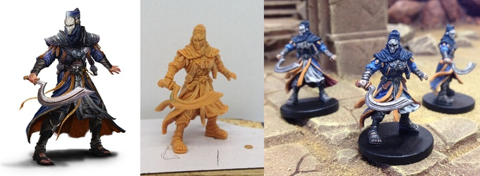 The Priests of Set...from Concept to Production Model.