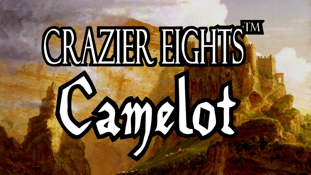 Crazier Eights: Camelot (Fantasy Card Game) project video thumbnail