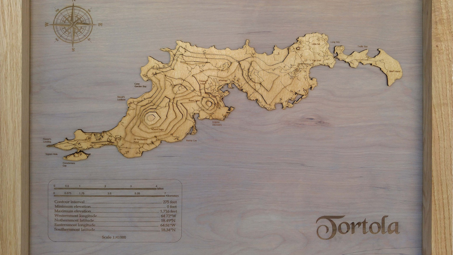 Meridian maps 3d topographical wooden maps by arunprakash meridian maps are 3d topographic hardwood maps each map is custom made to any gumiabroncs Images