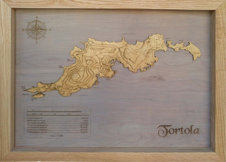 meridian maps are 3d topographic hardwood maps each map is custom made to any