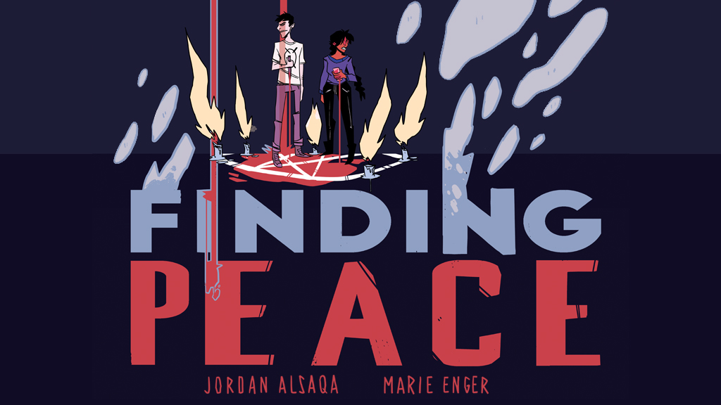 Finding Peace project video thumbnail