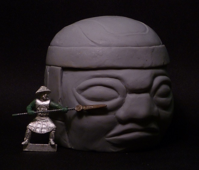 Olmec Colossal Head - $15