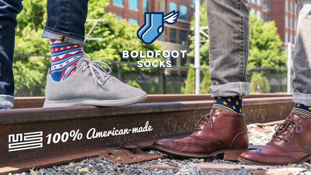 Boldfoot USA: Ridding the world of terrible quality socks project video thumbnail