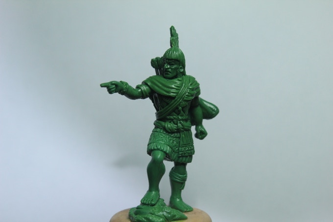Aztec Officer (Pointing) - $5