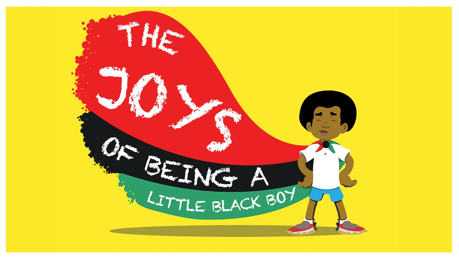 The Joys of Being a Little Black Boy is a children's book that vividly illustrates the joy possessed by little black boys.
