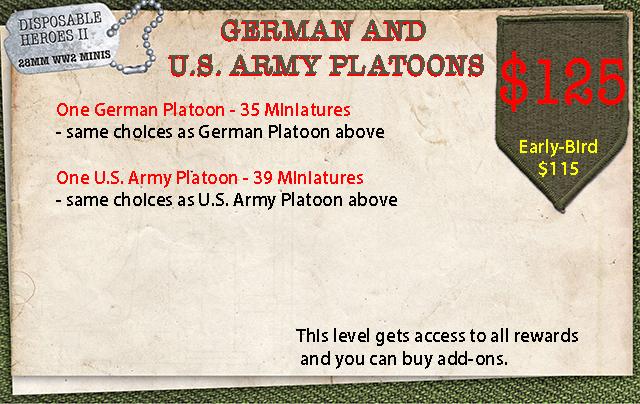 German and U.S. Platoons