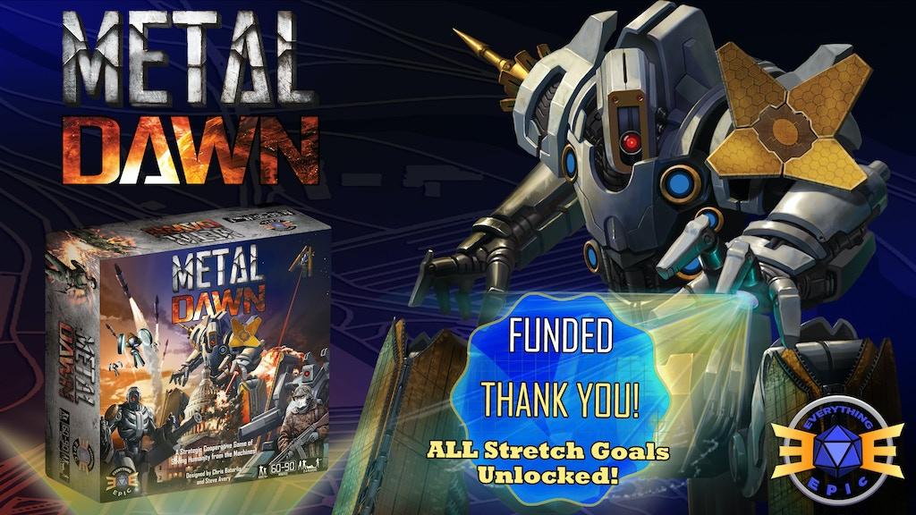 Metal Dawn project video thumbnail