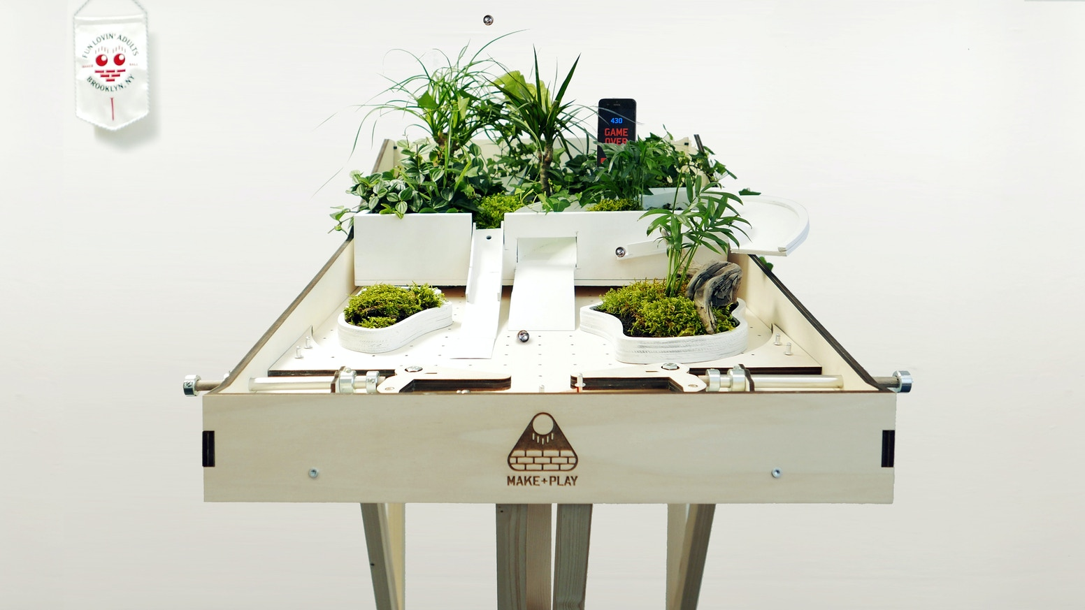 Makerball the diy pinball machine kit by make play kickstarter an affordable stable mutable pure simple pinball machine that can be upgraded solutioingenieria Gallery