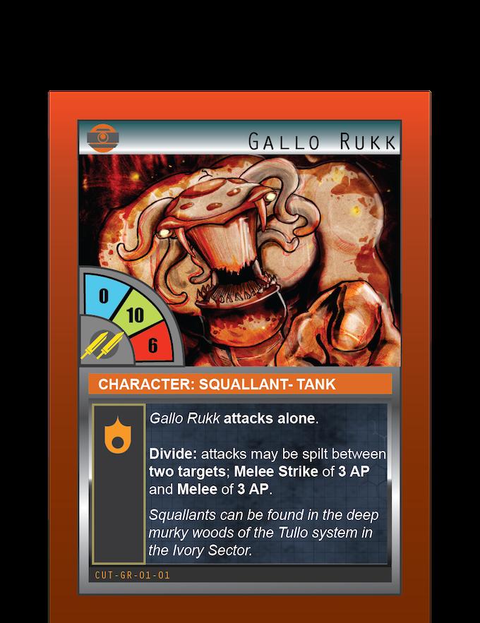 Gallo Rukk: Tank: Squallant