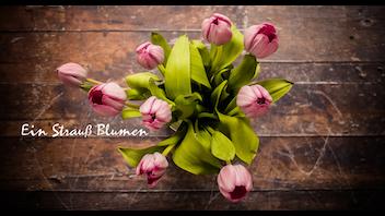 Ein Strauß Blumen