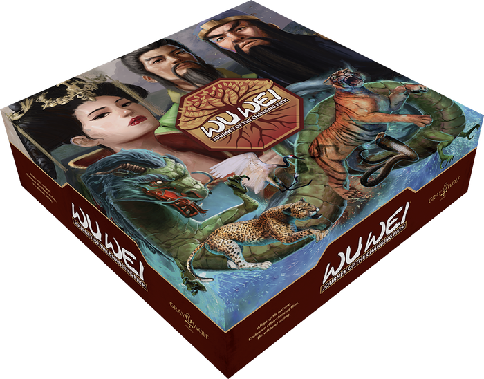 Martial arts masters secretly train students while the emperor seeks to unite his people in this 45-90 minute board game for 1-6 players.