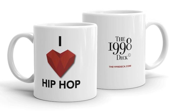 'I Heart Hip Hop' 11 oz Mug