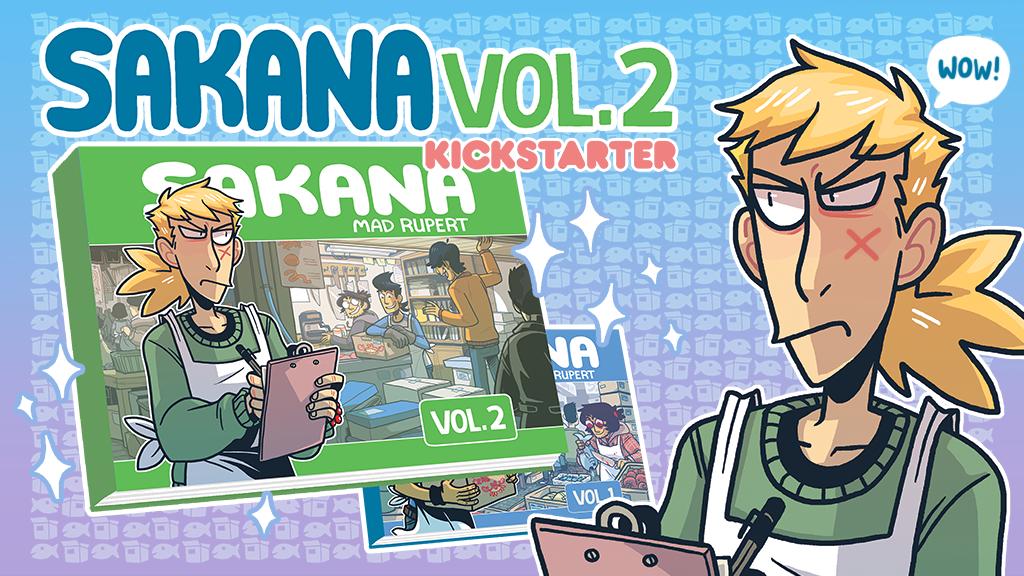 SAKANA Volume 2 Kickstarter project video thumbnail