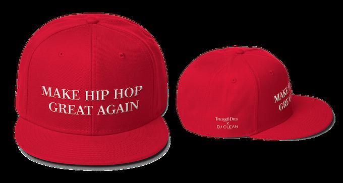 """Make Hip Hop Great Again"" Snapback Baseball Hat"