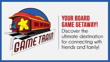Game Train- Board Game Getaway!
