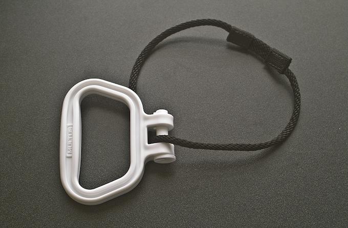 White Multus Handle & Prussic Loop Rope
