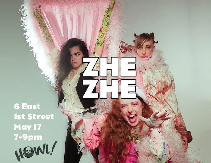 Zhe Zhe is a satirical webseries about the glamorous misadventures of two flamboyant, fame-addicted posers in a phantasmagoric New York
