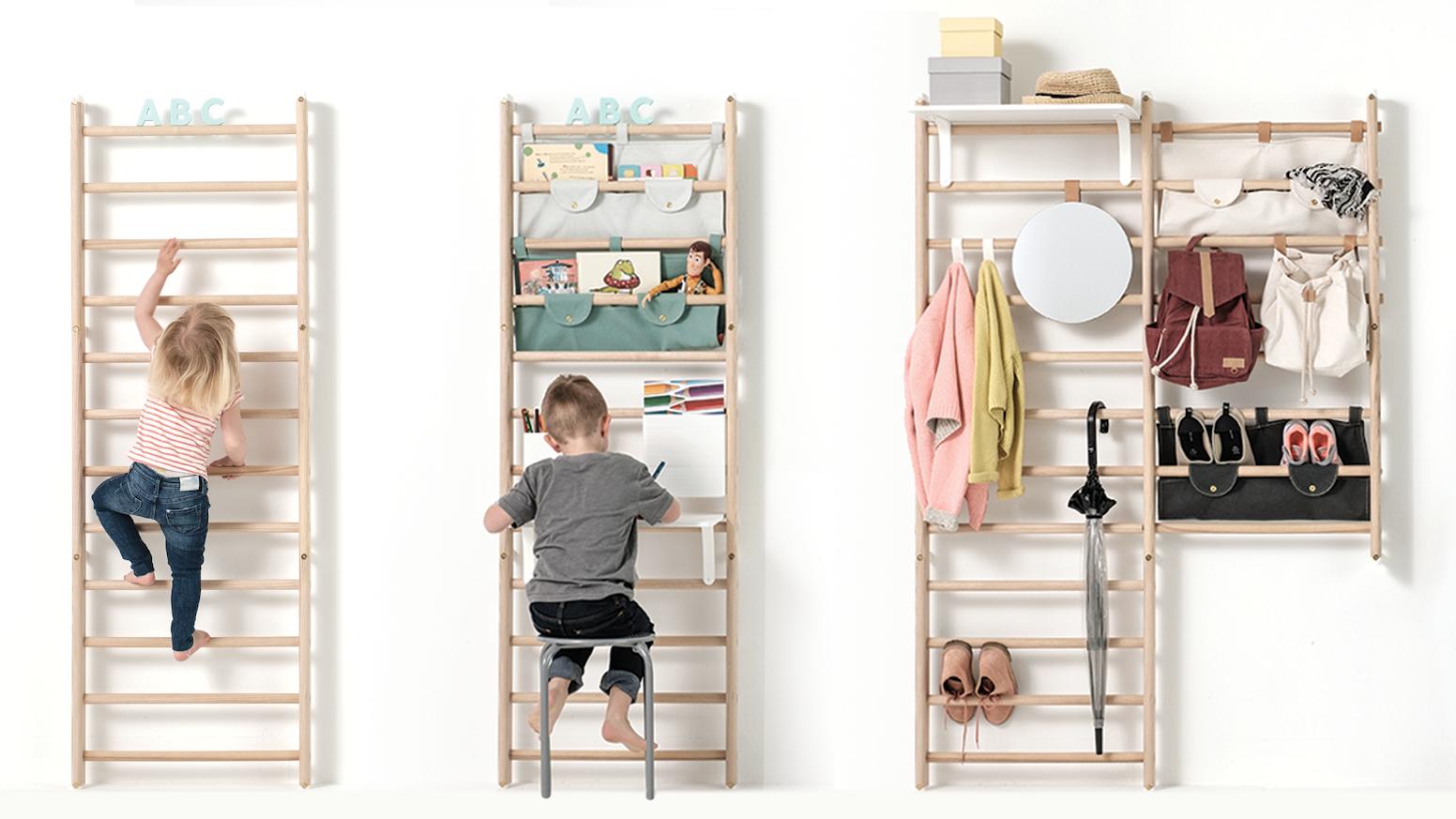 Ingenious wall bars - Scandinavian design by KAOS — Kickstarter