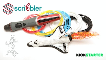 Scribbler DUO: The World's First Dual-Nozzle 3D Printing Pen