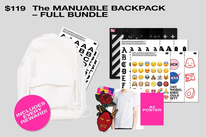 Get the Backpack with all the rewards in this campaign!