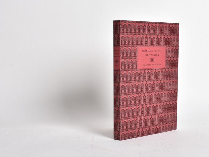 Our paper-wrapper version is bound in a letterpress cover.
