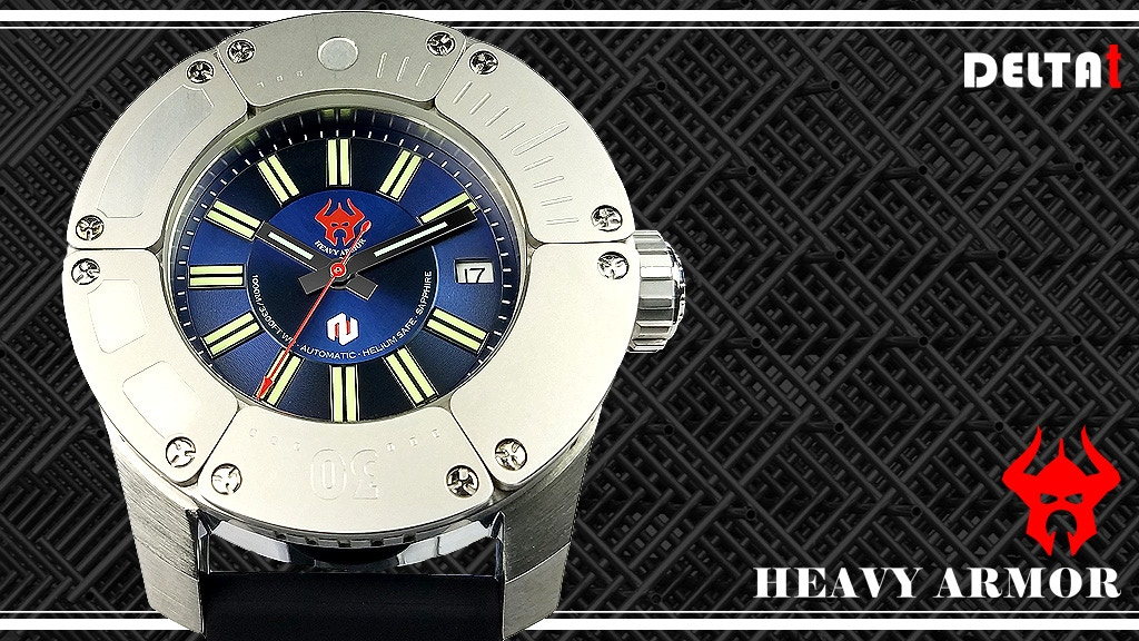 Heavy Armor, the diver watch that dares to be different! project video thumbnail