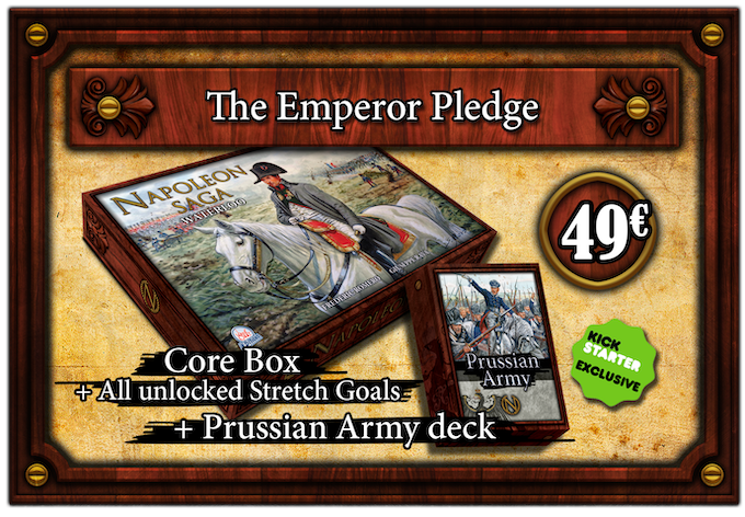 Get the Exclusive Prussian Army with the Napoleon Saga Core Box