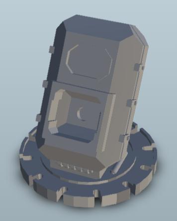 Tech-coffin design.