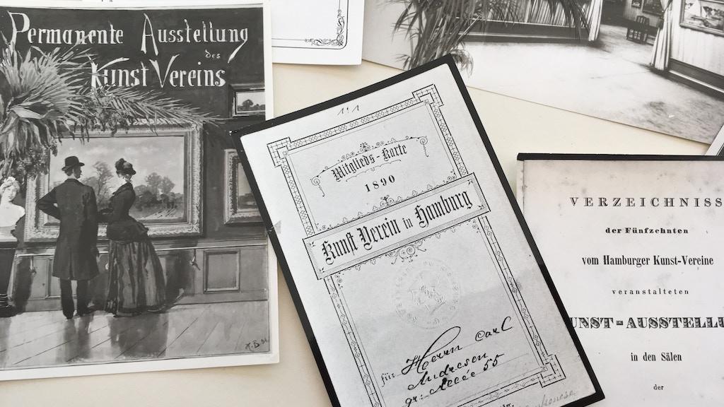 Kunstverein in Hamburg - Digital Archive project video thumbnail